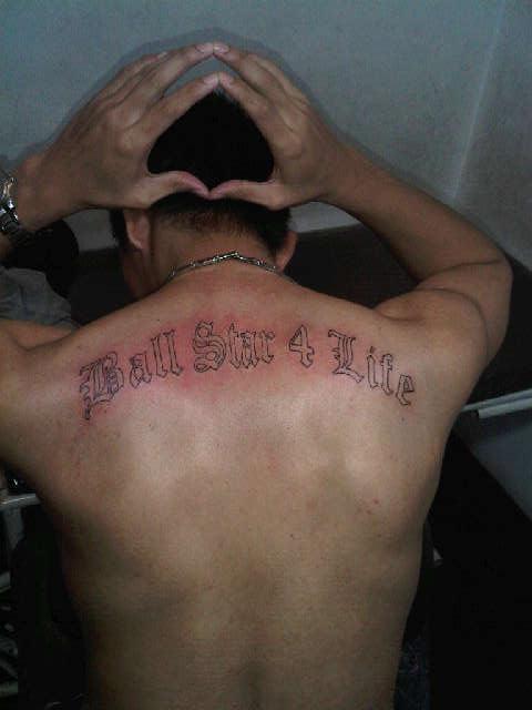 Bayu Radityo's 1st tattoo